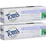 Tom's of Maine Whole Care with Fluoride Natural Toothpaste