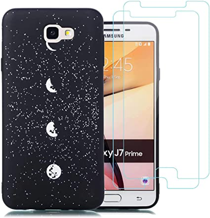 jrester Funda Samsung Galaxy J7 Prime,Luna Flexible Suave Silicona ...