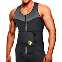 SEXYWG Heren Sauna Vest Taille Trainer, Zweetvest Voor Mannen Met Taille Trimmer Workout Shaper Controle Buikgordel…