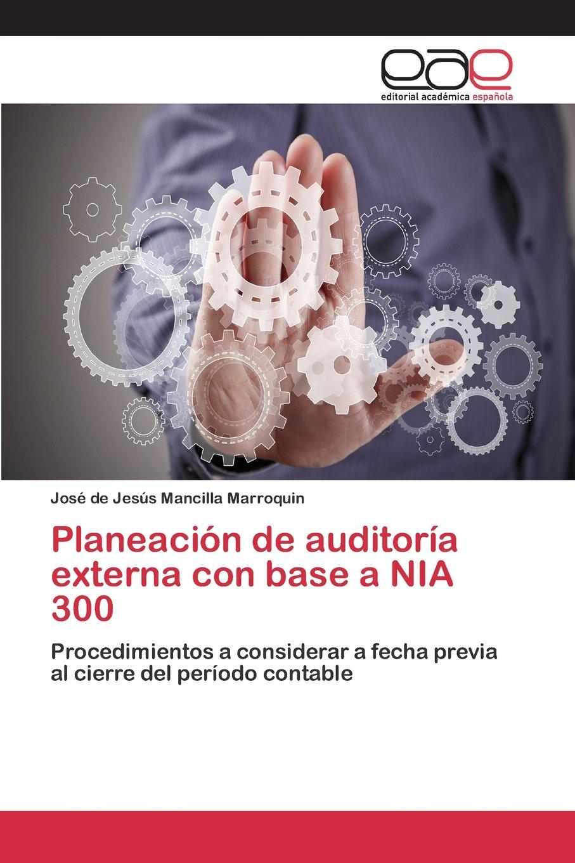 Planeación de auditoría externa con base a NIA 300: Amazon.es ...