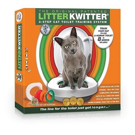 Litter Kwitter - Sistema de adiestramiento para gatos