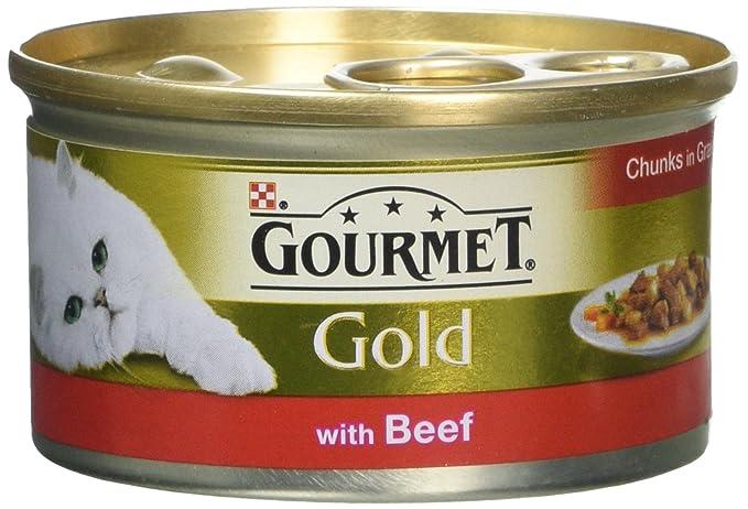 PET-573318 Carne Gourmet de Oro en trozos en salsa (85g) 12 Paquete