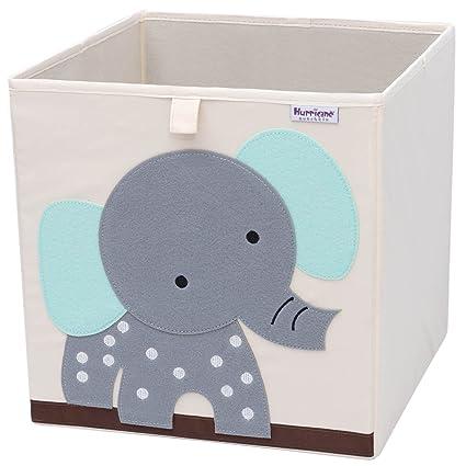 Merveilleux Hurricane Munchkin Collapsible Toy Storage Box   Cube Bin Organizer For  Children Toys, Stuffed Animals