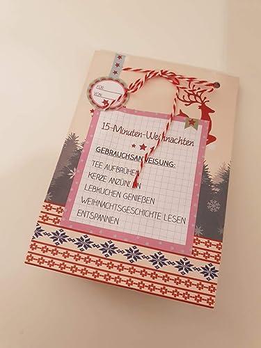 Weihnachtsgeschenke Kollegen.15 Minuten Weihnachten Weihnachtsgeschenk Geschenk Für Kollegen