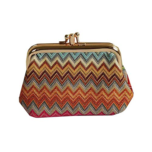 6a4df71377bb Fashion Women's Cute Classic Exquisite Double Pockets Coin Purse by Signare