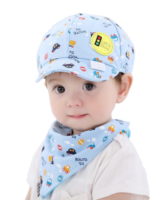 Little Car Baseball Beret Cap Baby Kid Boy Girl Kid Toddler Infant