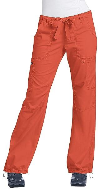 Lindsey Comfortable Koi Ultra Scrub Cargo Style Pants Women's OuwPkZiTX