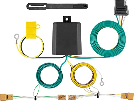 Amazon Com Curt 56404 Vehicle Side Custom 4 Pin Trailer Wiring Harness Select Audi Q5 Automotive