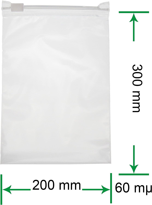 /70/m/µ//My 225 X 310 X 0,06 mm heizip/® 50/X ziehver chluss Beutel 60/