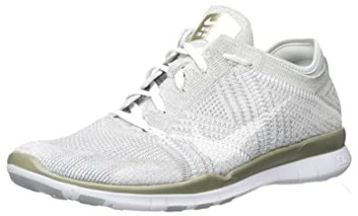 a6c01c2039a78 Nike Womens Free Tr Flyknit Metallic Running Trainers 804534 Sneakers Shoes