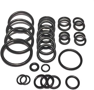 Cooling system radiator hoses O ring set kit For BMW E83 X3 N52 N51 engine