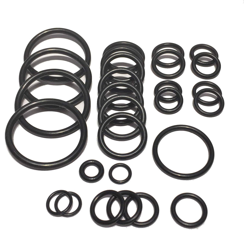 Cooling system radiator hose O ring set For BMW E90 E91 E92 E93 335i xi N54