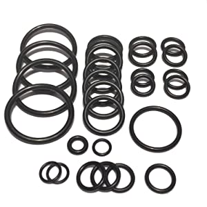 Cooling system radiator hose O ring set For BMW E90 E91 E92 E93 335i xi N54