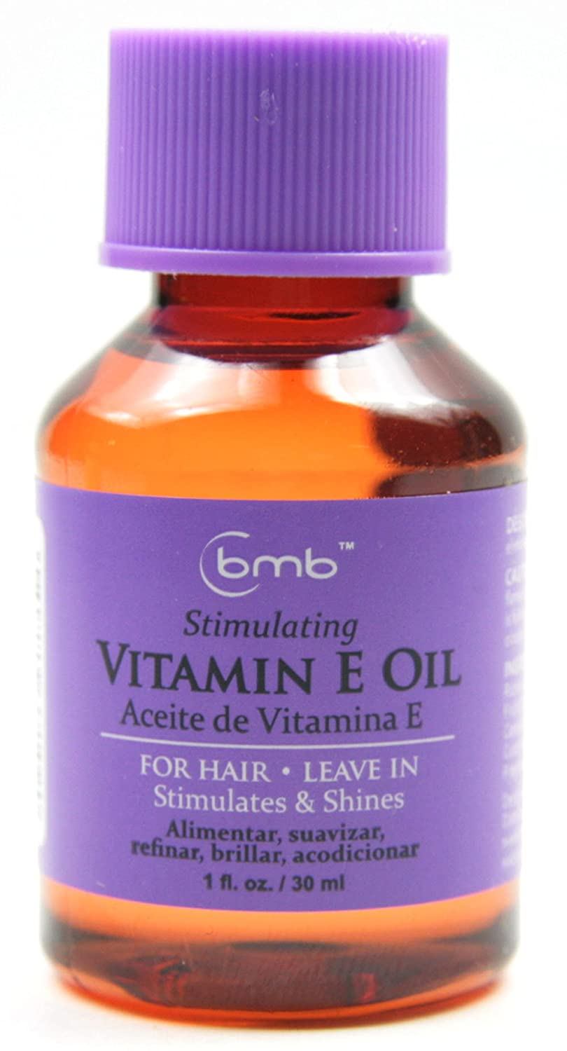 Amazon.com : BMB Repairing Oil For Hair Leave in Repair Treatment 1 Oz Selection (VITAMIN E OIL) : Beauty