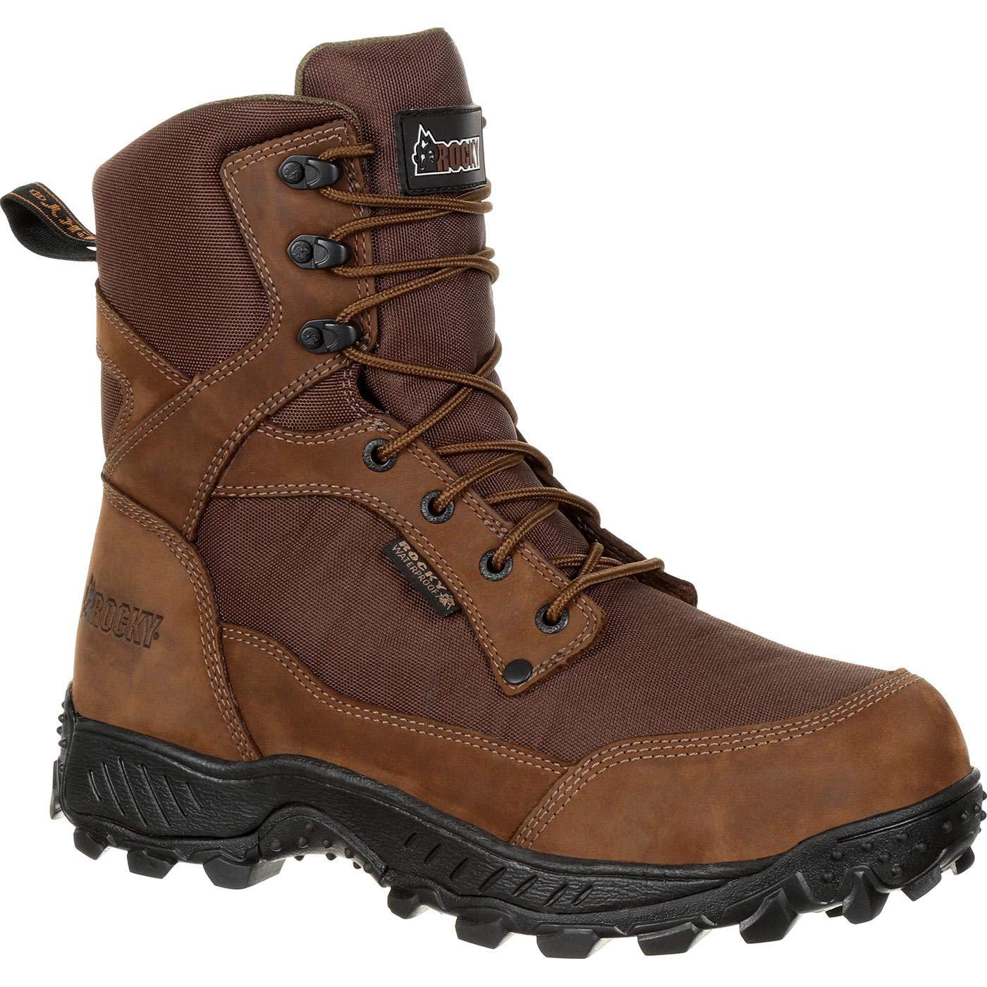 06b3aa74145 ROCKY Men's Ridgetop Waterproof Outdoor Boot Round Toe