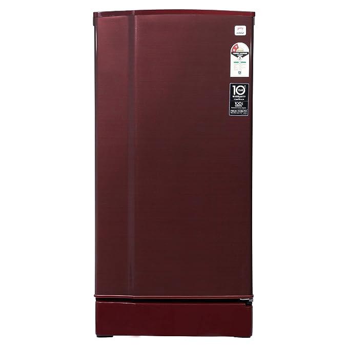 Godrej 190 L 2 Star Direct Cool Single Door Refrigerator  RD 1902 EW 23 STL WN, Steel Wine