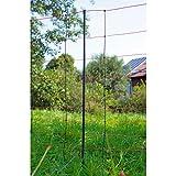EIDER TITAN Schafnetz in 108cm 2 Spitz 50 m lang - Agilitynetz in Top Qualität - Auch für große Hunde als Agilitynetz - Standfest durch 2 Spitzen