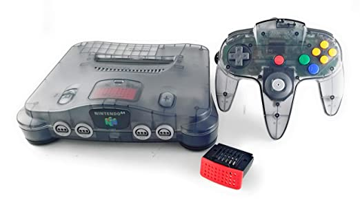 Amazon Com Nintendo 64 System Video Game Console Smoke Video Games
