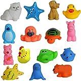 Kids Play Chu Chu Bath Toys for Baby Non-Toxic Toddler Set Multi Color