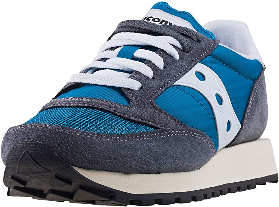 Saucony Jazz Original Vintage S60368-39 Womens Blue Athletic Running Shoes