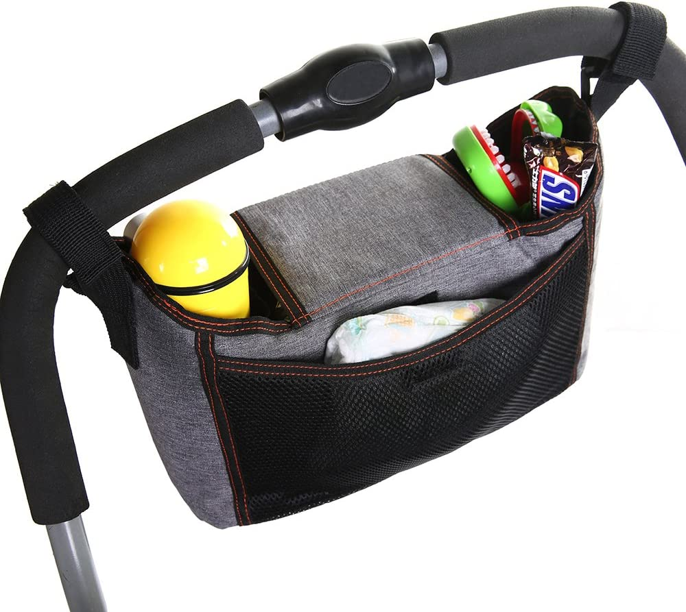 OZCOWBABY Pochettes de rangements pour poussettes Multifonction Sac de maman Imperm/éable Sac de landau Multicolore (A)