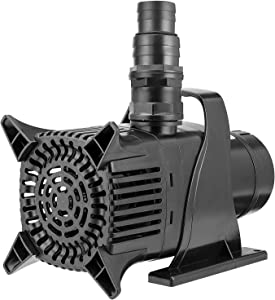 VIVOSUN 8190 GPH Submersible Water Pump 500W Ultra Quiet Pump with 20.3ft Power Cord High Lift for Pond Waterfall Fish Tank Statuary Hydroponic
