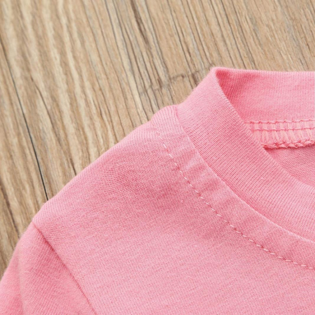 3-4T Webla Toddler Kids Baby Girls T-Shirt Letter Mamas Bestie Print Summer Tops Blouse for 1-5 Years