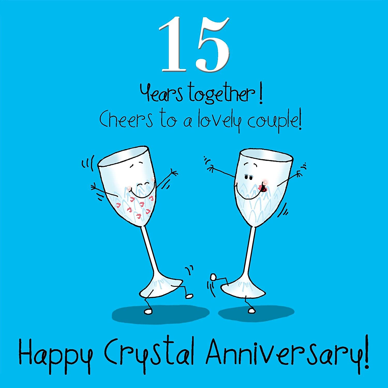 15 year wedding anniversary crystal