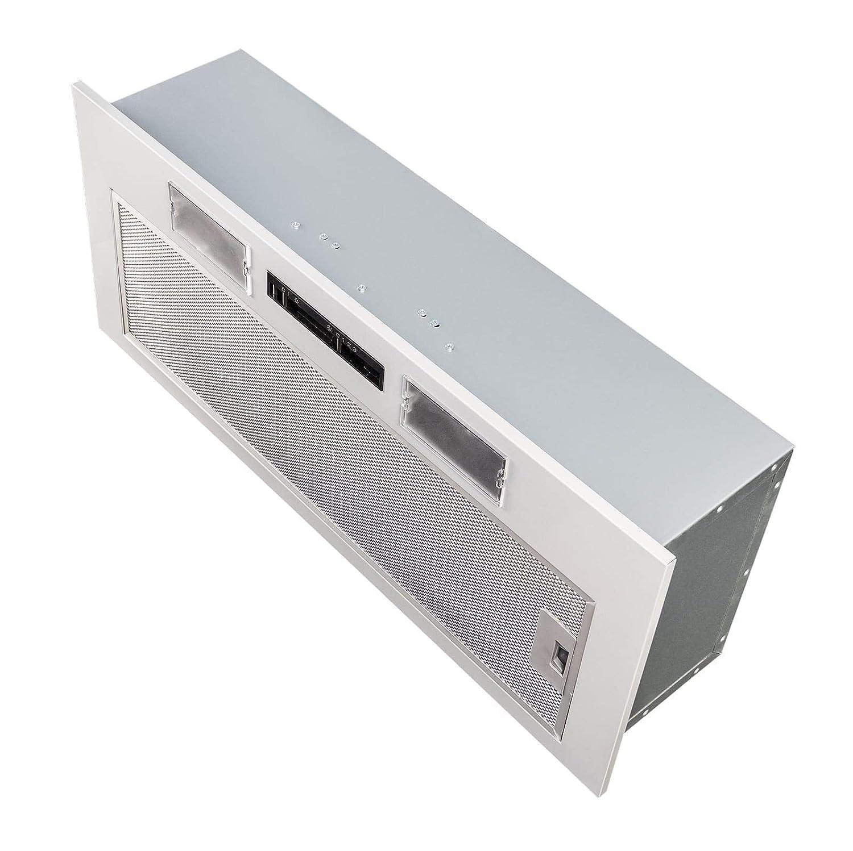 SIA 70cm Under Cupboard Canopy Built In Cooker Hood Extractor Fan Filter
