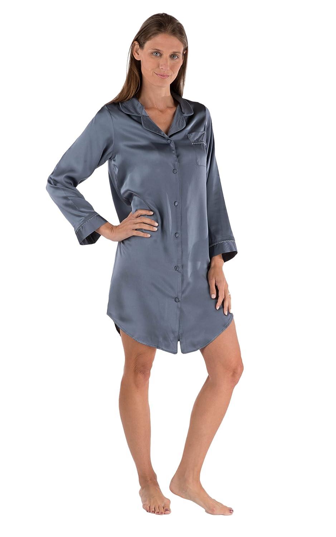 701a40ebf1 Women's Silk Sleep Shirts Long & Short Style - lilysilk.com