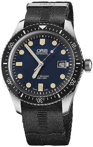 Oris Divers Sixty-Five Reloj de hombre automático 42mm 01 733 7720 4055-LS26: Oris: Amazon.es: Relojes
