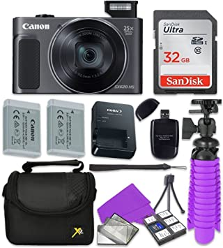 Amazon.com: Canon PowerShot sx620 HS Cámara digital con ...