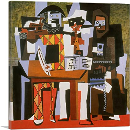 Pablo Picasso Still Life Under The Lamp Print Poster Giclee