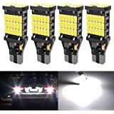 4PCS Super Bright 921 T15 912 W16W LED Reverse Lights, Error Free 904 Led 921 Bulbs 45SMD-4014 Chipsets, Newest 912 921…