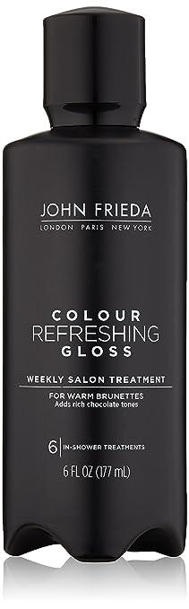 john frieda colour refreshing gloss cool brunette 6 ounce - Color Refreshing Gloss