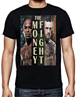 Floyd Mayweather vs Conor McGregor 'The Money Fight' T-Shirt by MYOS