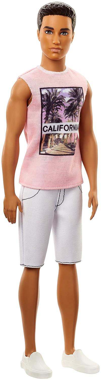 Barbie Ken Fashionistas Look Californiano-Uno Stile da Collezionare, FJF75 Mattel SS-MTL-FJF75