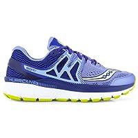 Saucony Hurricane ISO 3 Womens Cushioned Running Shoes - Purple/Navy