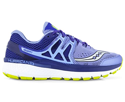 da14bba882e3 Saucony Hurricane ISO 3 Womens Cushioned Running Shoes - Purple Navy ...