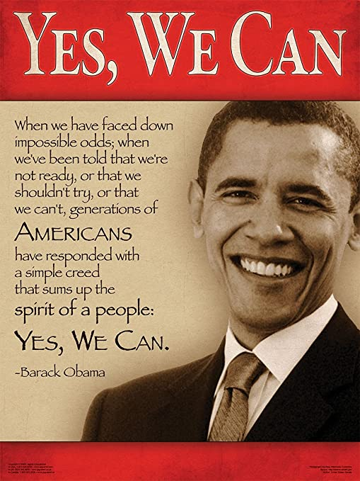 Amazon com: President Barack Obama Quotes Poster Series 10