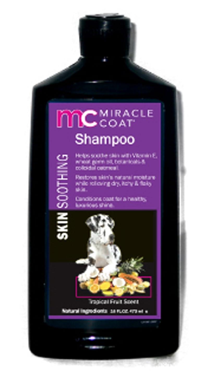 16 oz. Miracle Coat Skin Soothing Dog Shampoo 16 oz.