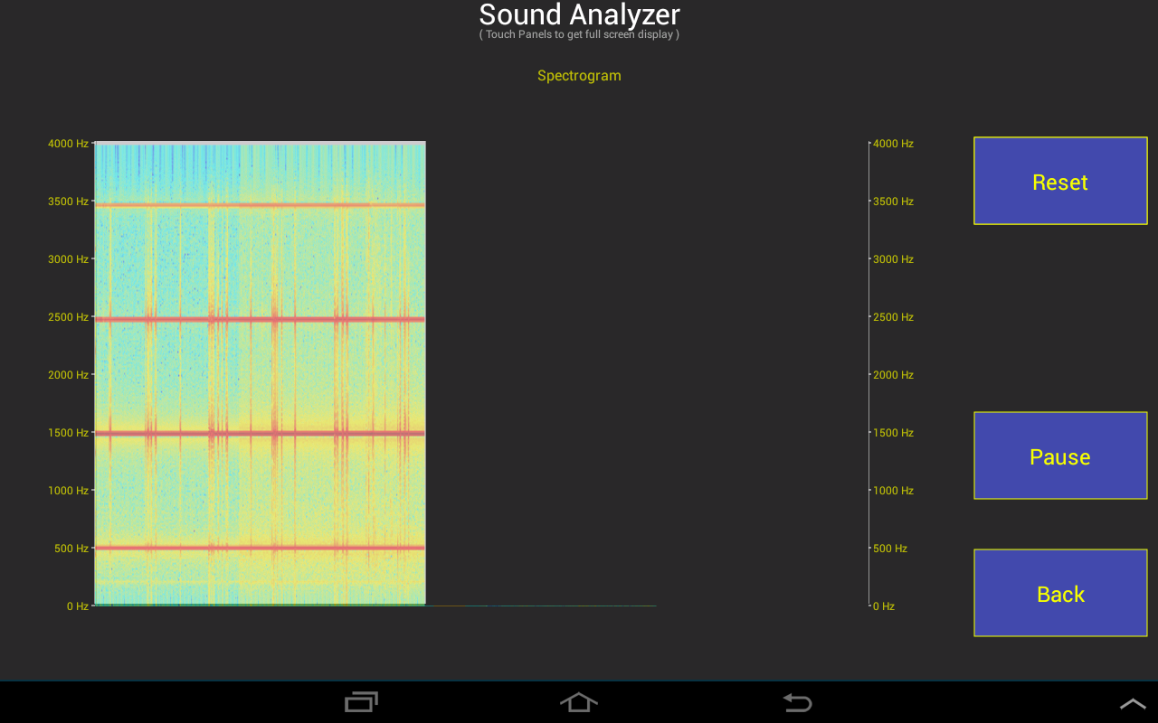 Amazon com: Sound Analyzer: Appstore for Android