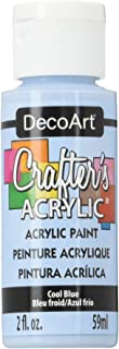 product image for DecoArt DCA76-3 Crafter's Acrylic Paint, 2-Ounce, Cool Blue