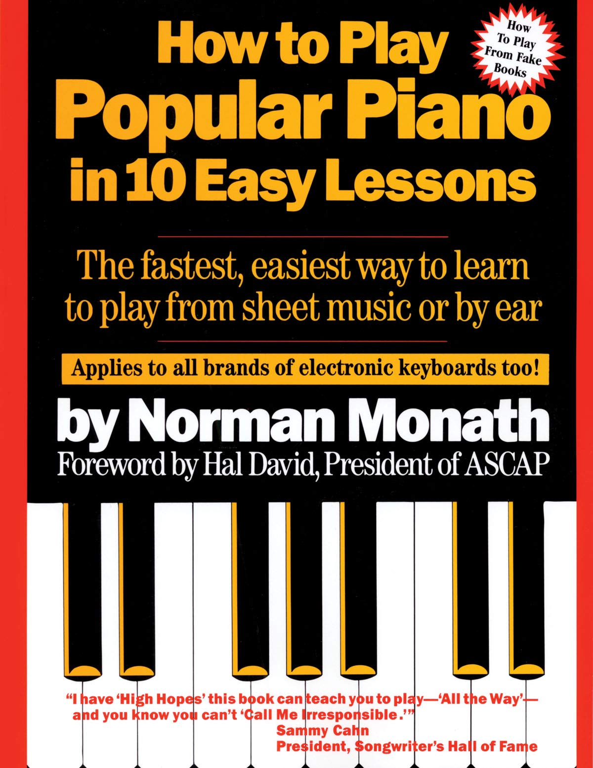 How To Play Popular Piano In 10 Easy Lessons The Fastest