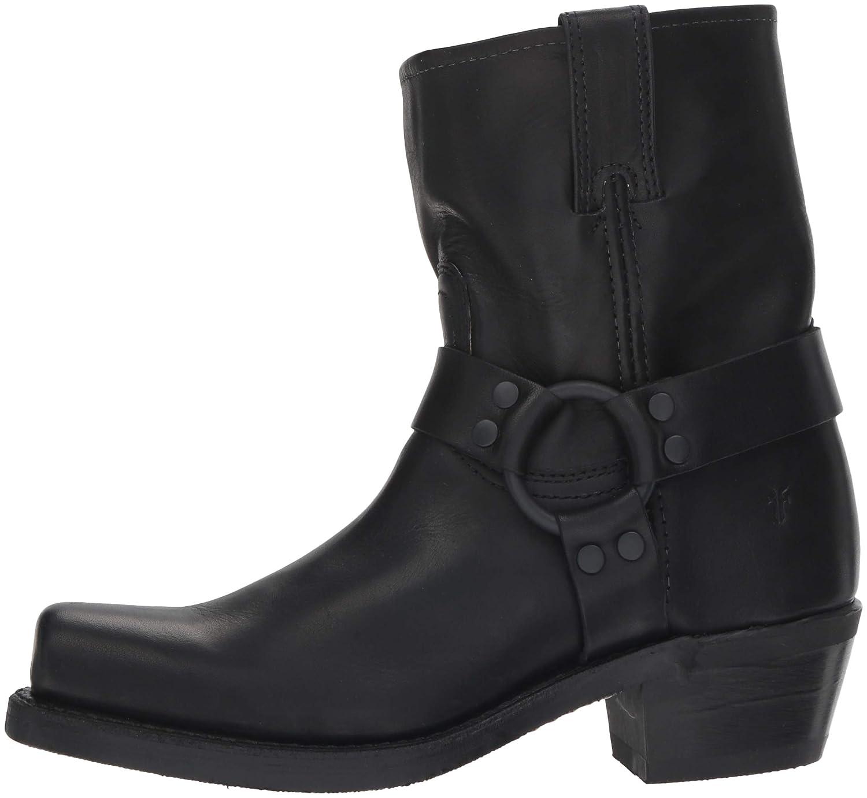 FRYE Womens Harness 8R Mid Calf Boot Black 9.5 M US