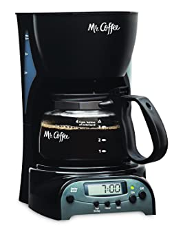 Mr. Coffee DRX5-RB Programmable 4-Cup Coffee Maker