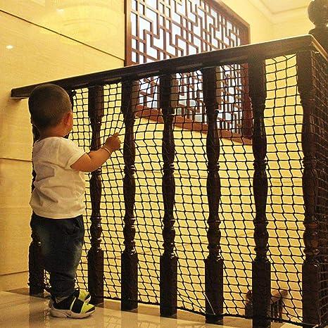 Barras de Seguridad para niños, Red de Seguridad para escaleras, Tela de Malla Resistente, Red de Seguridad para niños, Mascotas, Juguetes, Interior/Exterior: Amazon.es: Productos para mascotas