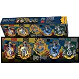 Aquarius Harry Potter Crests Slim Puzzle (1000 Piece)