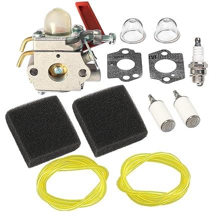 Amazon.com: HIPA up04742 carburador Filtro de aire línea de ...