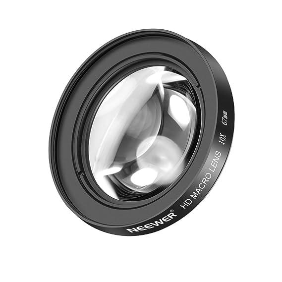Neewer 67mm 10X Objectif Macro Close-Up avec HD Verre Optique pour Canon  REBEL ( 41ad9eb9e597
